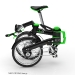 DKCity folding electric bicycle - folded stage 3