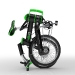 DKCity folding electric bicycle - folded stage 5