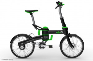ROBRADY designed db0 electric folding bicycle