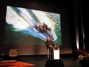 Rob Brady Presenting at the CUSP Conference 2009