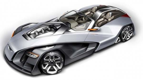 Design a Concept Car - Final Rendering
