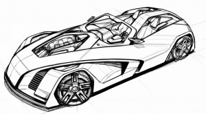 Design a Concept Car - step 1