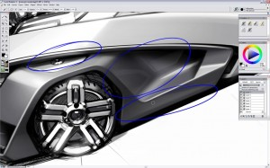 Design a Concept Car - Step 11