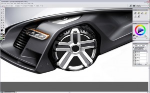 Design a Concept Car - Step 13
