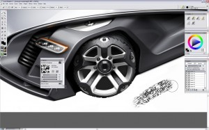 Design a Concept Car - Step 14