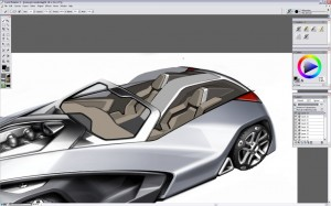 Design a Concept Car - Step 19