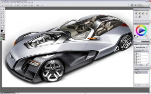 Design a Concept Car - Step 23