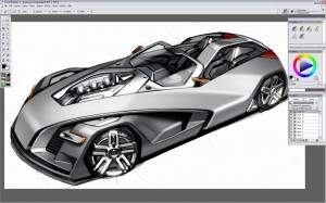 Design a Concept Car - Step 6