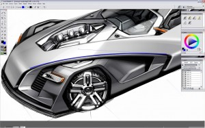 Design a Concept Car - Step 8