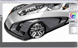 Design a Concept Car - Step 9