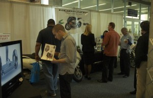 Interactive demonstrations at the ROBRADY booth at COOLtech