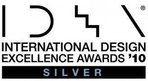 Industrial Design Excellence Award Logo - SIlver